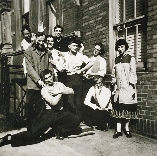 fd89f1550d693b The 103rd Street gang - New York 1950  Top row (L)  Mata (a girlfriend of  Victory Reilly s) and Jack Hudson
