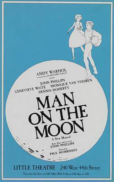 Andy Warhol's man on the moon