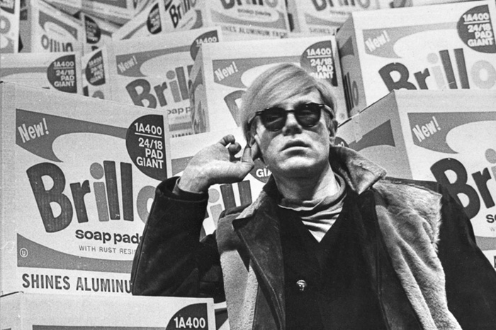 Andy Warhol with Brillo Boxes Stockholm