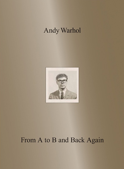 andy warhol retrospective catalogue front cover