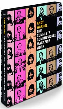 Andy Warhol The Complete Commissioned Magazine Work front cover