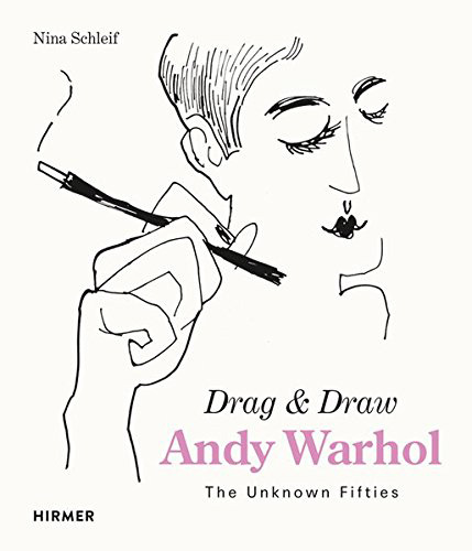 Andy Warhol drag and draw book