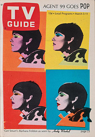 Andy Warhol TV Guide cover