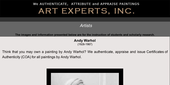 art experts inc