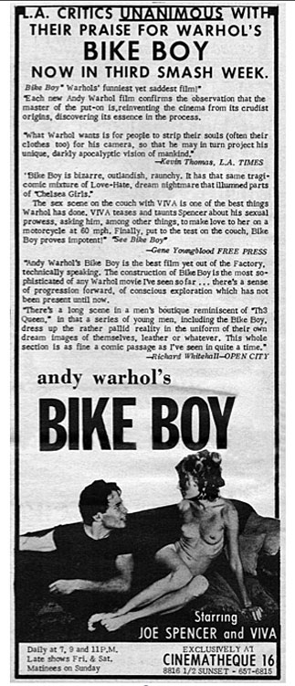 Bike Boy ad