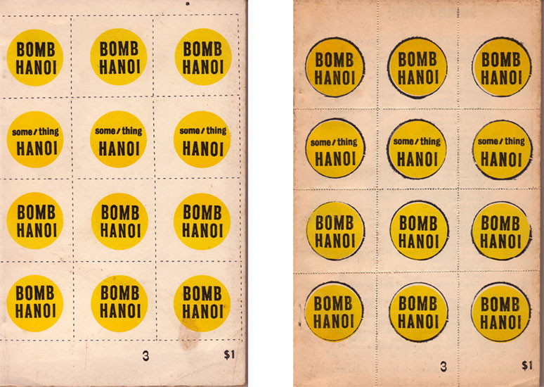 Bomb Hanoi by Andy Warhol