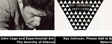 john cage ray johnson at MACBA