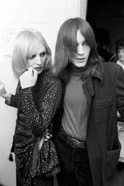 Candy Darling and Jeremiah Newton
