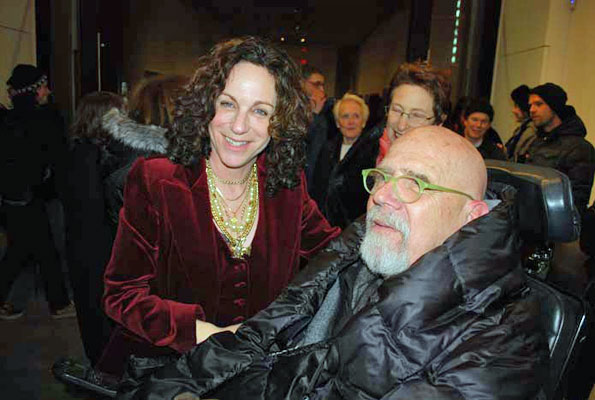 Deborah Kass and Chuck Close