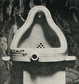 Marcel Duchamp Fountain