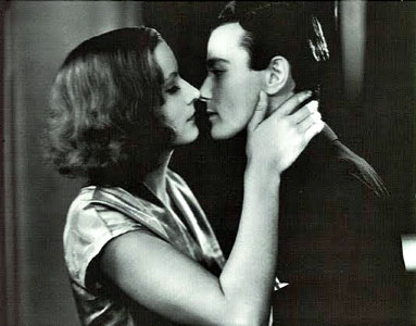 Greta Garbo Lew Ayres The Kiss