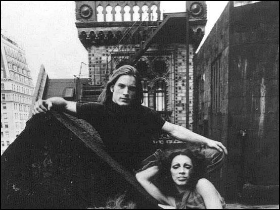 Joe Dallesandro and Holly Woodlawn