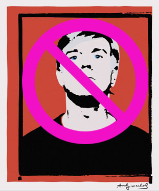 Joe Simon Whalen Warhol Self Portrait