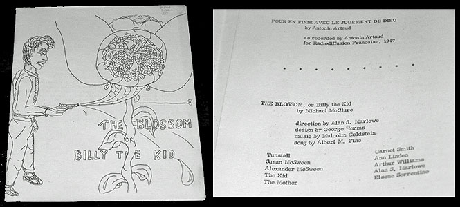 Michael McClure Blossom first edition