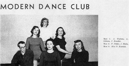 carnegie tech modern dance club