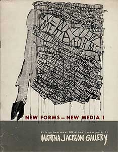 New Forms New Media catalogue