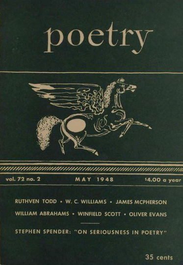 Poetry magazine May 1948