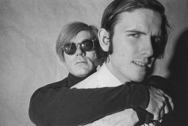 Andy Warhol and Rod La Rod