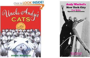 Cover of Uncle Andy's Cats and Andy Warhol's New York