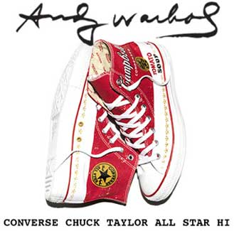 Andy Warhol collection for Converse