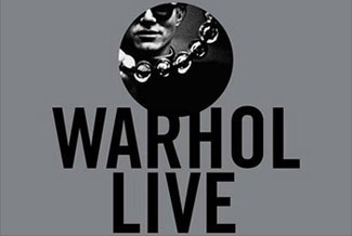 warhol live cover
